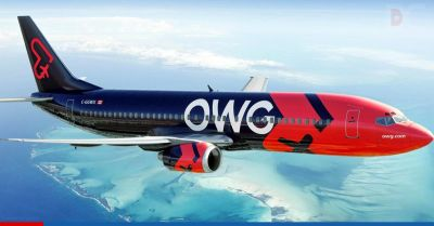Canadian airline OWG opens with flights to Cuba.